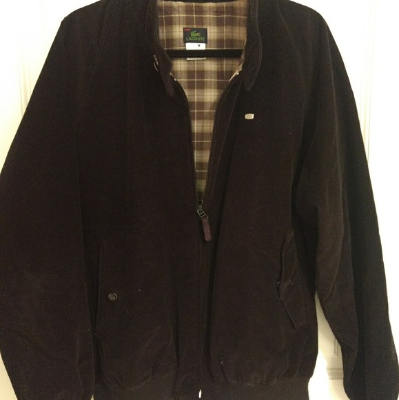 cb3fc6c510 Men's Lacoste Corduroy Jacket in Black